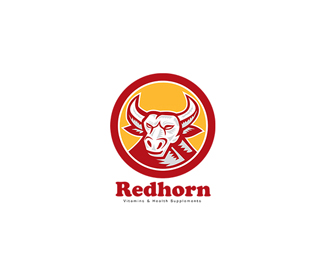 Red Horn Vitamins Supplements Logo
