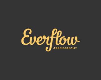 Logo design inspiration #27 - Everflow by Colin Tierney