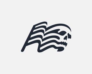 logopond logo brand identity inspiration skull flag logo rh logopond com flag logo quiz on scratch flag logo design