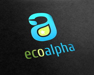 Eco Alpha Abstract Logo Template