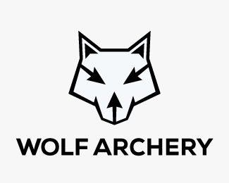 Logopond - Logo, Brand & Identity Inspiration (Wolf Archery)