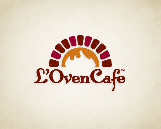 Logopond - Logo, Brand & Identity Inspiration (L'Oven Cafe)