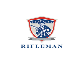 Rifleman Fireworks and Pyrotechnics Logo