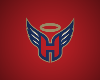 Saints Hockey Team Logo