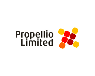 Propellio Limited logo design