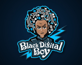 Digital Black Boy