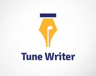 Tune Writer Logo Template