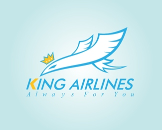 Logo for 'King Airlines'