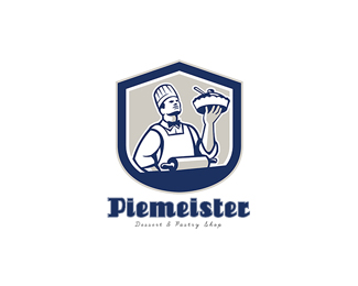Piemeister Dessert and Pastry Shop Logo