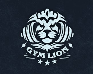 Gym Lion logo