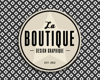 La boutique — Design graphique