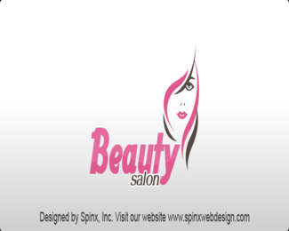 Get Free Cool design logo for your beauty salon