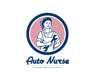 Auto Nurse Car Repairs Logo