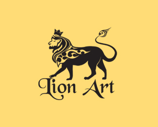 Lion Art Logo