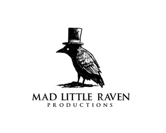 Mad little raven