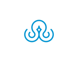 Minimalist Octopus Mark