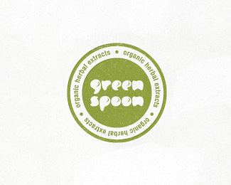 Green Spoon - natural logo