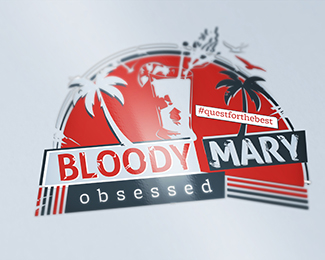 Bloody Mary Obsessed Logo