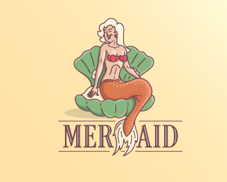 Mermaid blonde star