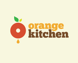 Orange Kitchen 1