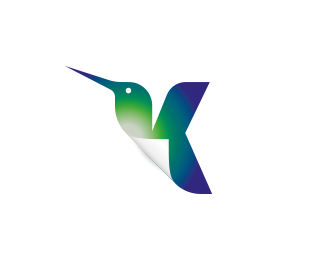 Hummingbird Document Paper Letter K (for sale)