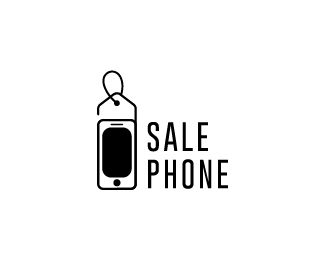 Sale Phone Logo