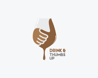 Drink and Thumbs up