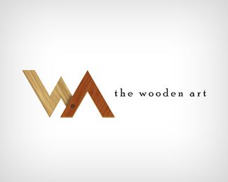 The wooden art