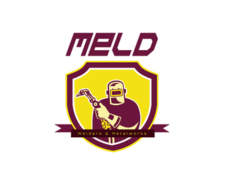 Meld Welders and Metalworks Logo