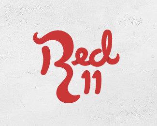Red Eleven Custom Font