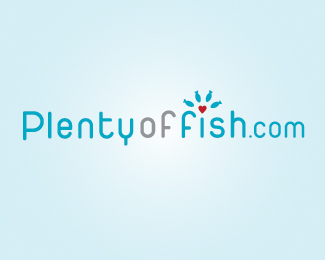 Dating site with fish logo