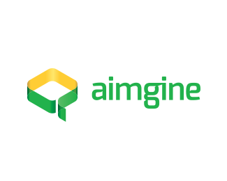 Aimgine digital agency logo