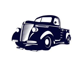 retro car fest. logo