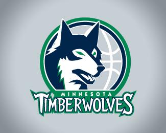 Logopond Logo Brand Identity Inspiration Minnesota Timberwolves