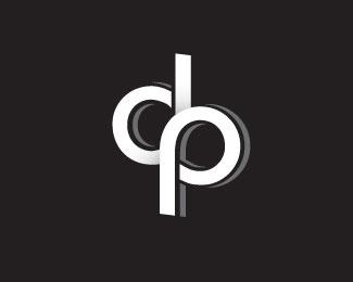 Logopond Logo Brand Identity Inspiration Dp Logo B W Version