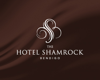 Logopond logo brand identity inspiration the hotel for Luxury hotel logo