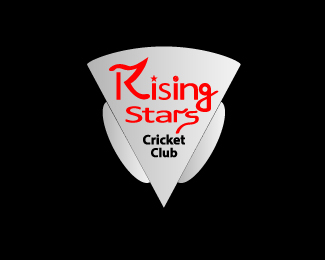 Logo for Rising stars Cricket Club