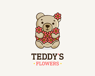Teddy's Flowers