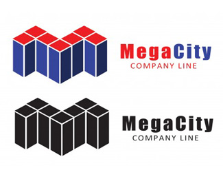 Mega City Logo Template