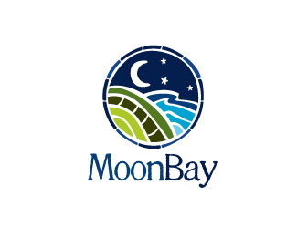 Moon bay logo