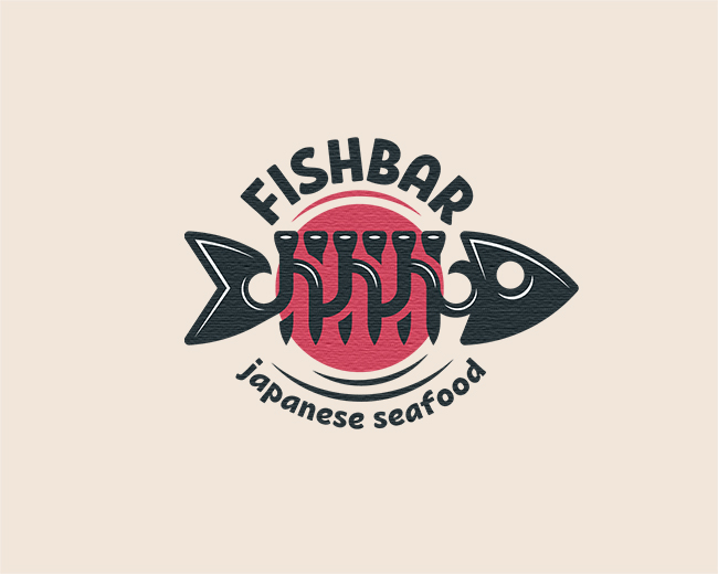 Japanese Fish Logo