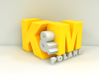 K and M 3d - Bazinga designs
