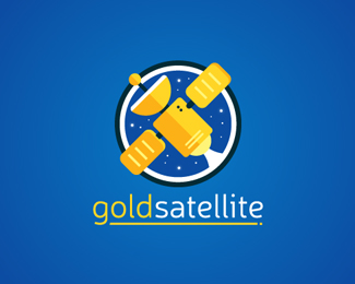 Gold Satellite