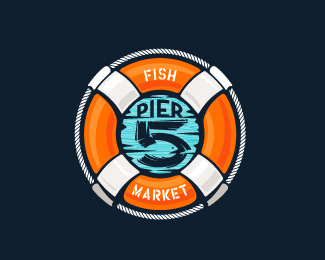 Pier 5 Fish Market - full color