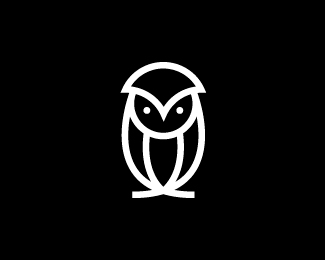 Owl Mark Monogram Minimalist