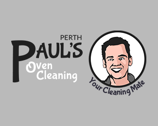 Paul's Oven Cleaning Perth Logo Design