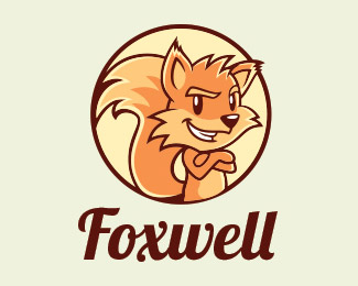 Cartoon Fox Logo