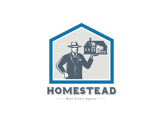 Homestead Real Estate Agents Logo