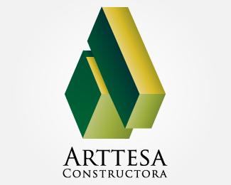 Logopond Logo Brand Identity Inspiration Constructora Arttesa S A S