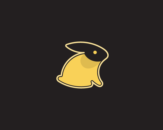 Sandy Rabbit Logo Design